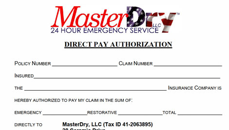 Direct Pay Authorization